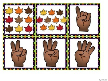 Kindergarten Math Centers for October
