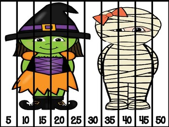 October Math Centers in Spanish