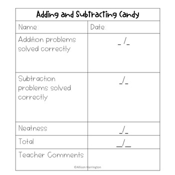 October Math Craft and Flip Book: Adding and Subtraction