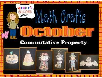 October Math Crafts Commutative Property