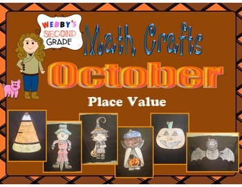October Math Crafts Place Value
