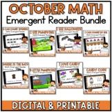 October Math Emergent Readers {Seesaw & Google Slides included}
