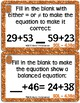 October Math Exit Tickets