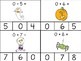 October Math Fact Clip Cards: Addition and Subtraction to 10