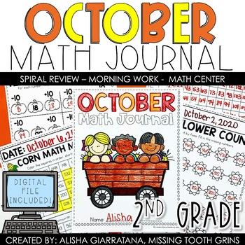 Math Journal October (2nd Grade)