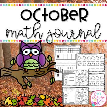 October Math Journal