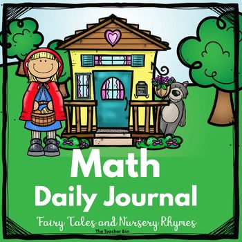 kindergarten -Special Ed.-Math Daily Journal Fairy Tales and Nursery Rhymes