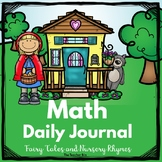 kindergarten -Special Ed.-Math Daily Journal Fairy Tales a