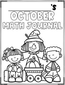 October Math Journal (1st Grade)