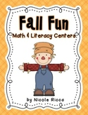 October Math & Literacy Centers