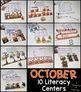 October Math & Literacy Centers - First Grade