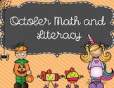 October Math & Literacy Pack