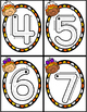 October Counting and Number Handwriting Cards