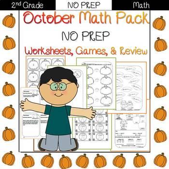 Second Grade Math Pack {October}