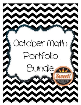 October Math Portfolio Bundle