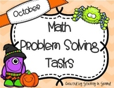 October Math Problem Solving Tasks