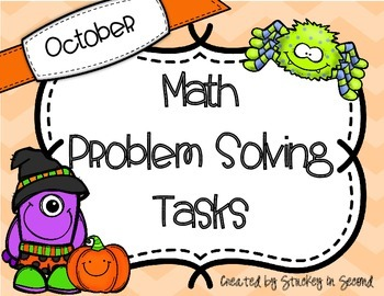 October Math Problem Solving Tasks