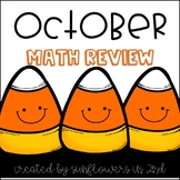 October Math Review