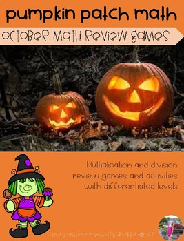 October Math Review Games