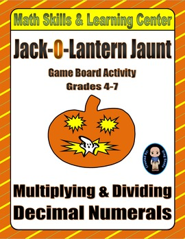 Halloween Math Skills & Learning Center (Multiply & Divide Decimals)
