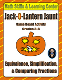 Halloween Math Skills & Learning Center (Simplifying & Comparing Fractions)