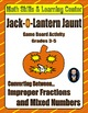 Halloween Math Skills & Learning Center (Understanding Fra