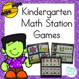 October Math Station Games