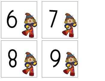 October Math Tubs First Grade
