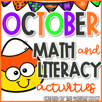 October Math and Literacy Acivities