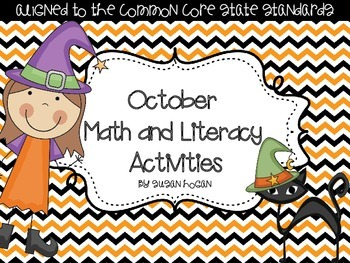 October Math and Literacy Activities