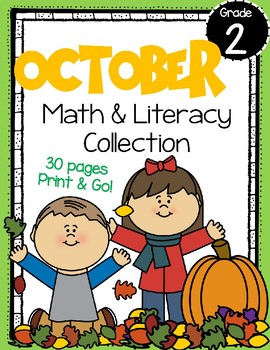 October Math and Literacy Centers