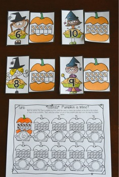Halloween Math and Literacy Centers {CCSS}