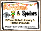 October Math and Literacy Differentiated Mini Bundle
