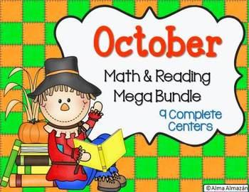 October Math and Reading Mega Bundle