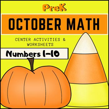 October Math for PreK