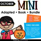 October Mini Adapted Book Bundle [11 books!] Digital + Pri