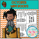 October Mini Books...Just Print, Fold, Read!