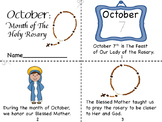 October:Month of The Holy Rosary Mini Book/Rosary Tracking