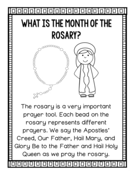 October Month of The Rosary