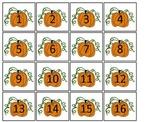 October Month themed Classroom Calendar Dates. Homeschool