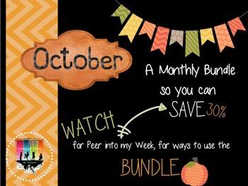 October Monthly Bundle Deal