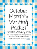 October Monthly Packet