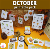 October Monthly Printable Packet