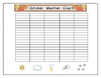 October Morning Calendar Routine Workbook