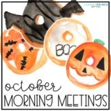 October Morning Meetings