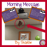 Bat Morning Message - Morning Work - For Traditional and Digital Classrooms!