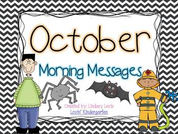 October Morning Messages Bundle