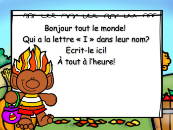 October Morning Messagesmessages Du Matin French