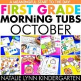 October Morning Tubs for 1st Grade