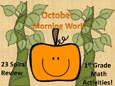 October Morning Work-1st Grade